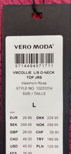 Vero Moda TEXTURED SWEATER WITH DRAWSTRING - Weathered Hanger
