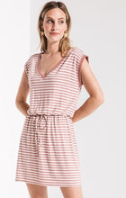 Z-Supply striped shirred Dress - Weathered Hanger