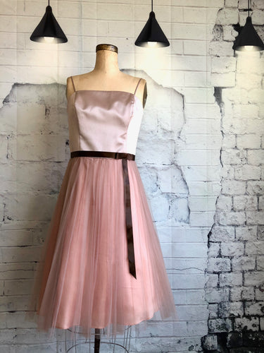 A.B.S. Evening by Allen Schwartz Tulle Dress - Weathered Hanger