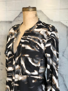Calvin Klein Animal Print Blouse