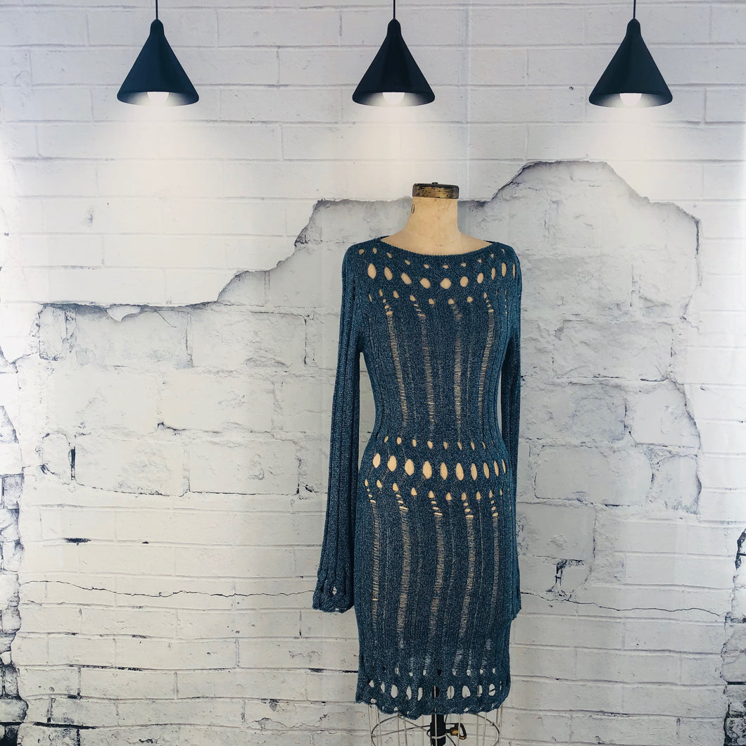BCBG open knit dress - Weathered Hanger