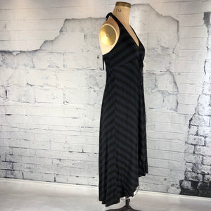 Ella Moss Black striped dress