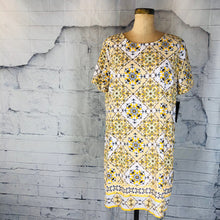 Lulus Dandy Lion Yellow Shift Dress