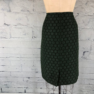 Anthropologie Maeve Goban Moss Green Pencil Skirt - Weathered Hanger