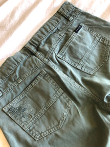 Sanctuary Distressed Roll-Cuff Shorts - Weathered Hanger