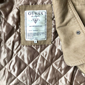 Guess Camel Utility Jacket - Weathered Hanger