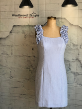 Eliza J Ruffle Strap Sheath Dress - Weathered Hanger