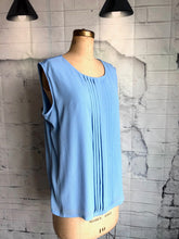 TanJay Blue Sleeveless top - Weathered Hanger