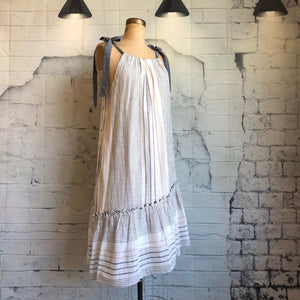 Anthropologie Maeve Yarn-Dyed Miller Dress - Weathered Hanger