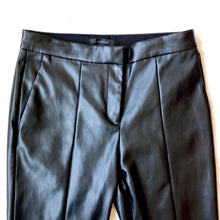 Ann Taylor Faux Leather Cuffed Ankle Pant - Weathered Hanger