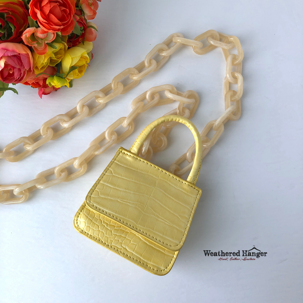 Woke baby newbie micro crossbody by Studio 33 - Weathered Hanger