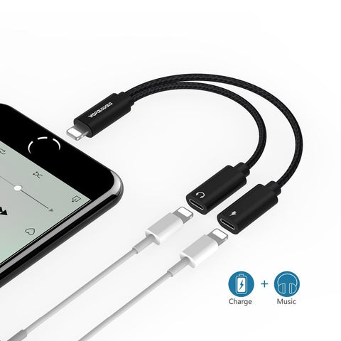 Dual Lightning iPhone Adapter