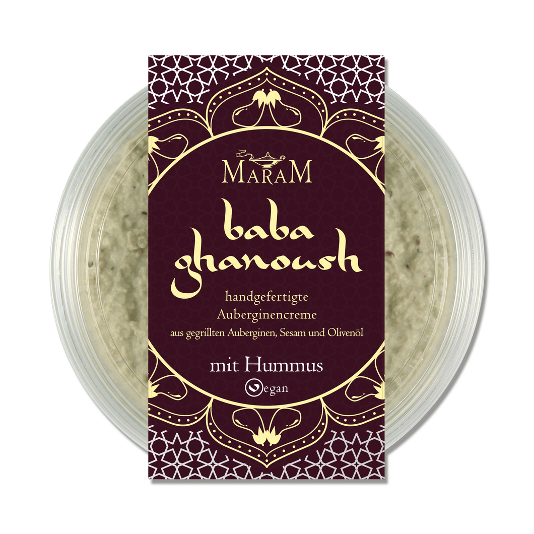 Baba Ghanoush - mit Hummus - frizle fresh foods shop