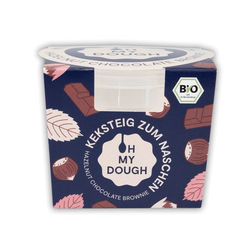 Hazelnut Chocolate Brownie Cookie Dough (85g) - Keksteig zum Naschen
