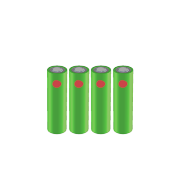 Battery, 800 mAh (set of 4) - LDX10/TDX20
