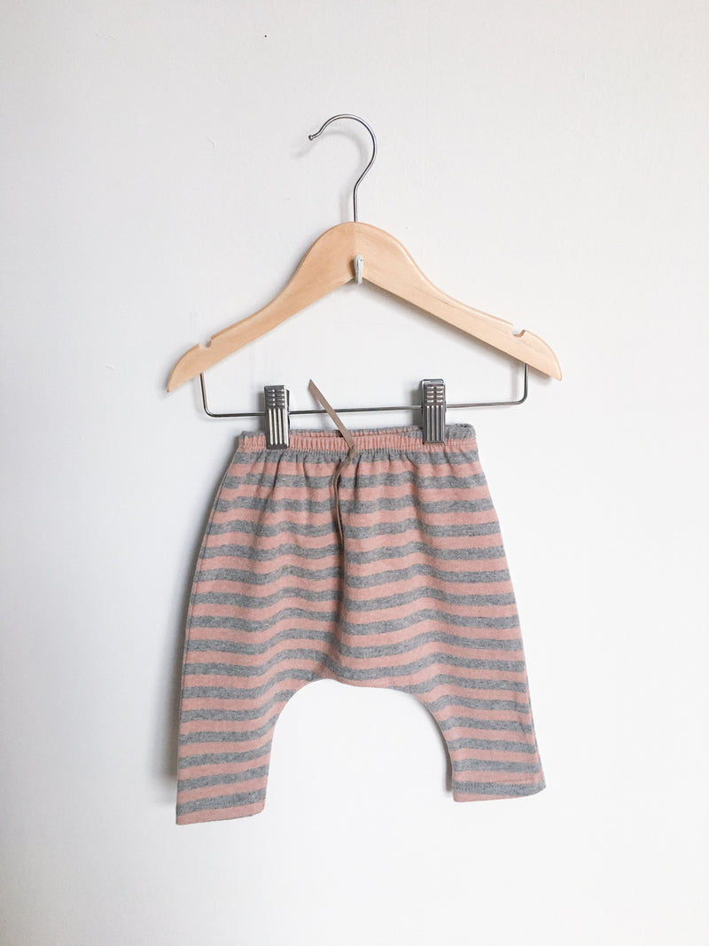 1 + in the family Bottoms 3m / New with Tag Re-Cycle Striped Harem Pants
