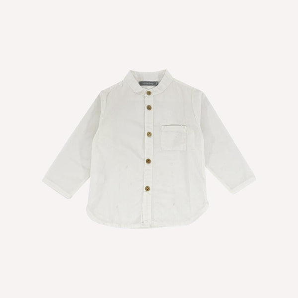 1 + in the Family Shirt 12m / Preloved Re-Cycle Solid White Shirt