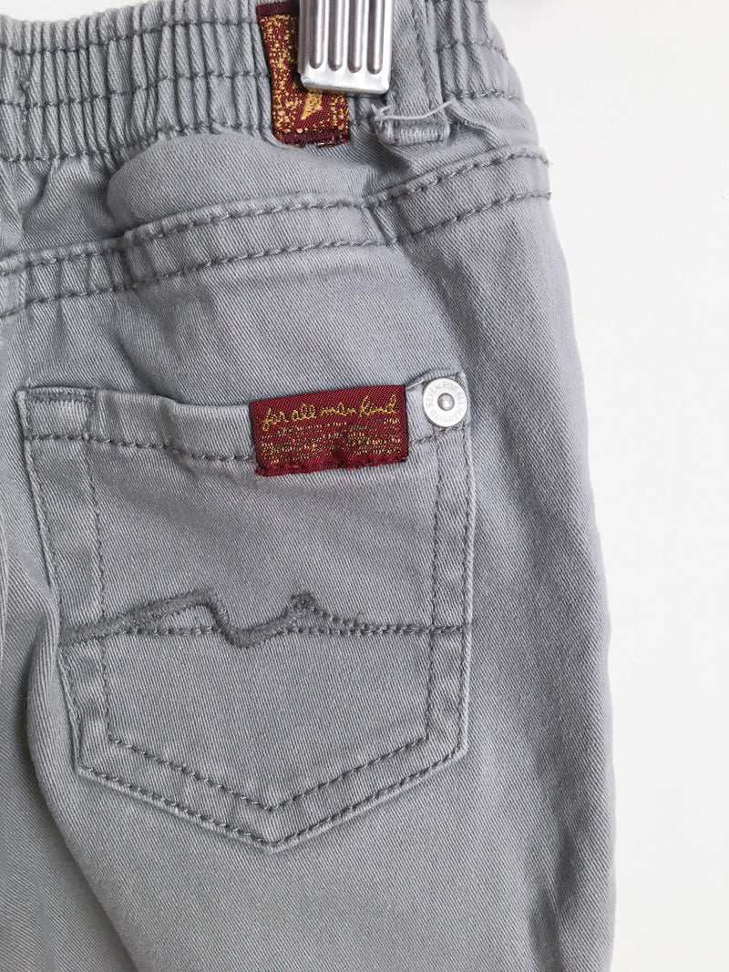 7 for all Mankind Bottoms 12m / Gently Used Re-Cycle Grey Jeans