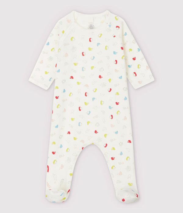 Colourful Puppies Organic Cotton Sleepsuit