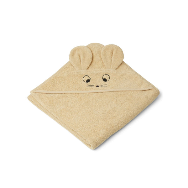 Augusta Hooded Towel - Mouse Wheat Yellow