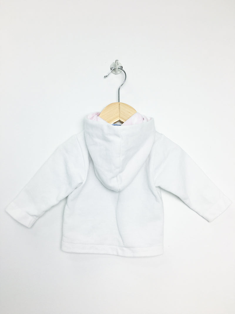 Re-Cycle White Baby Hoodie