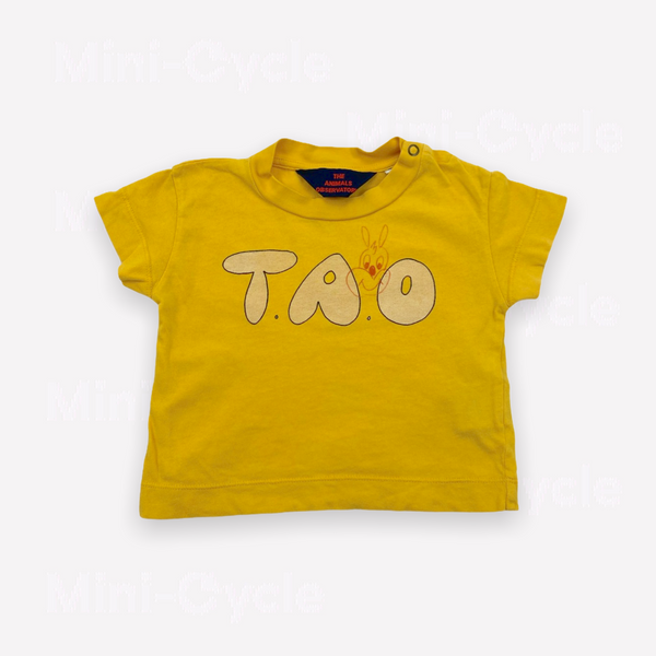 Re-Cycle Graphic Yellow T-Shirt