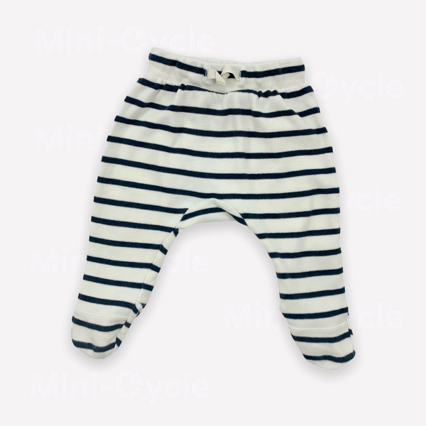 Re-Cycle Breton Stripe Footed Pants