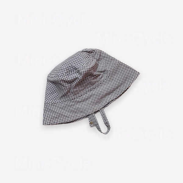 Re-Cycle Patterned Grey Summer Hat
