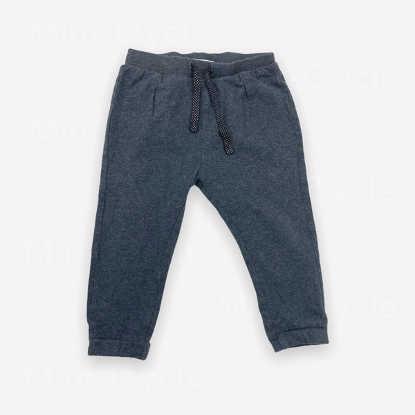 Re-Cycle Solid Charcoal Sweatpants