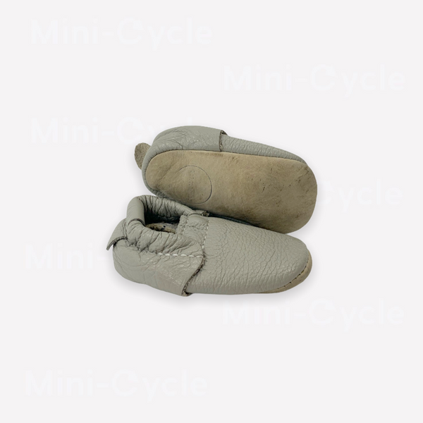Re-Cycle Solid Grey Moccasins
