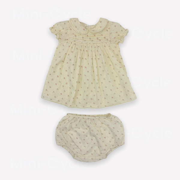 Re-Cycle Patterned Cream Tunic + Bloomers