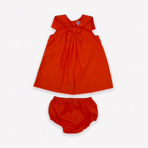 Re-Cycle Solid Red Tunic + Bloomers