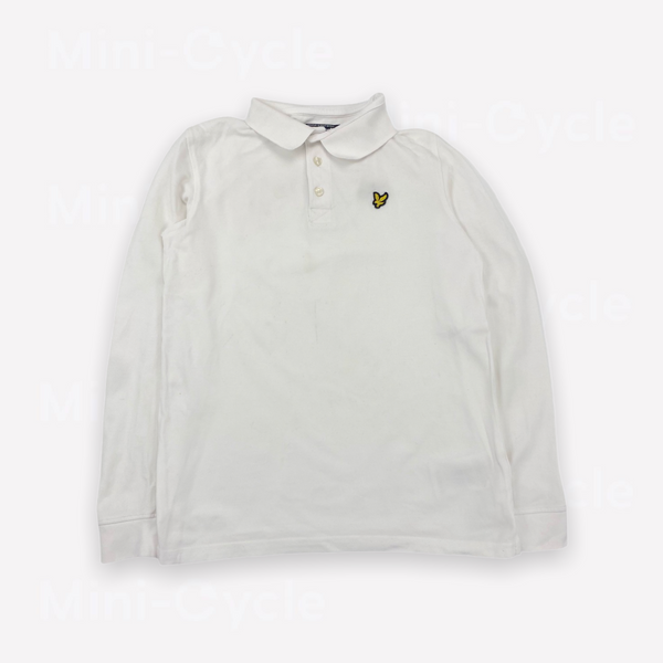 Re-Cycle Solid White Long-Sleeve Tee