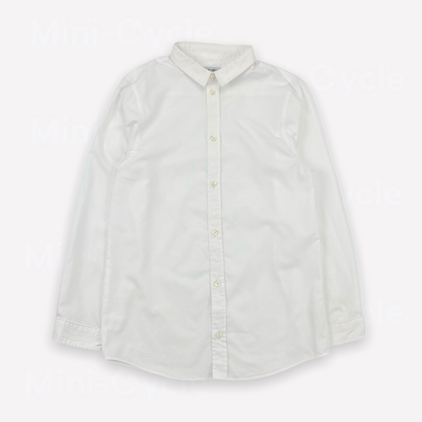 Re-Cycle Solid White Shirt