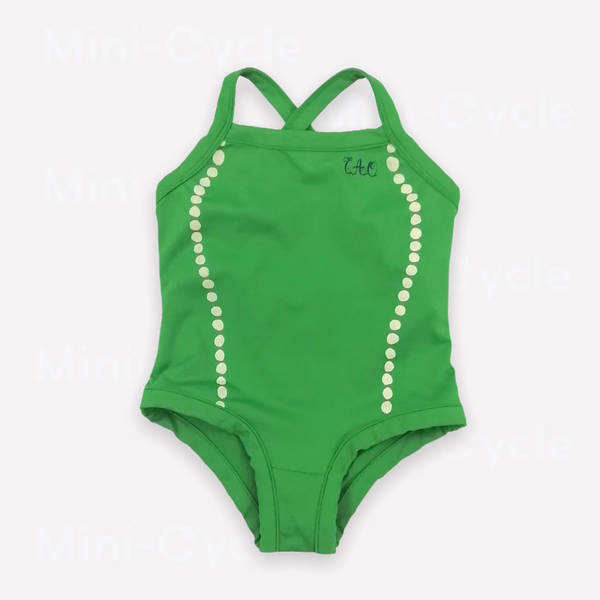 Re-Cycle Patterned Green One-Piece
