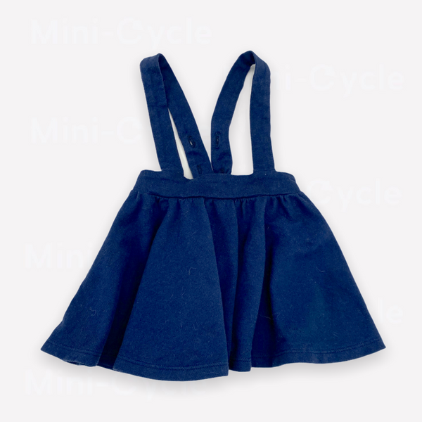 Re-Cycle Solid Navy Skirt