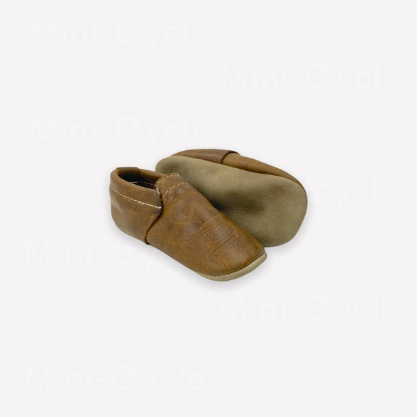 Re-Cycle Solid Brown Moccasin