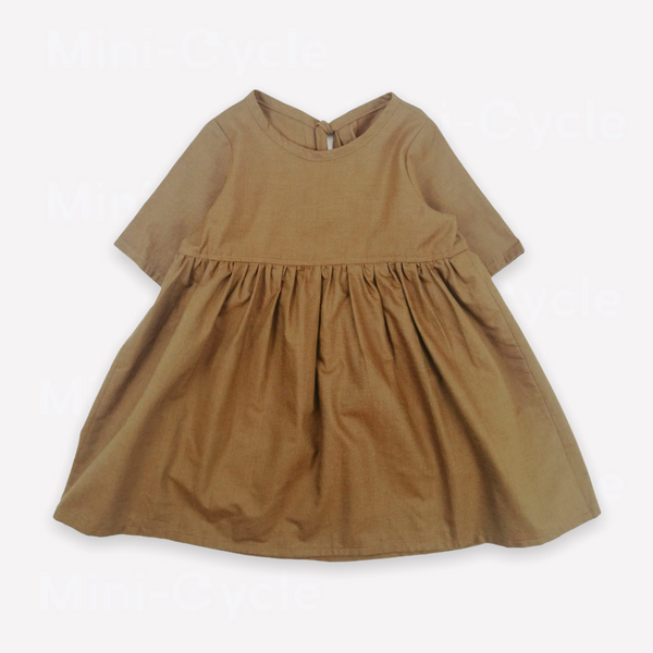 Re-Cycle Solid Khaki Tunic