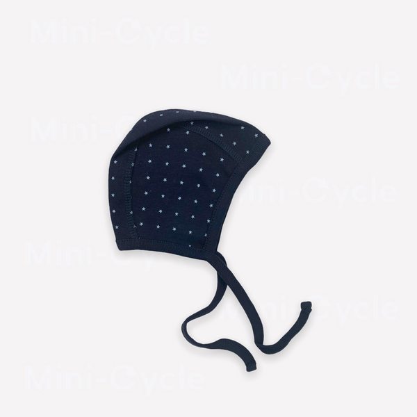 Re-Cycle Patterned Navy Bonnet