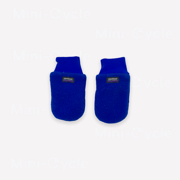 Re-Cycle Solid Royal Blue Fleece Mittens