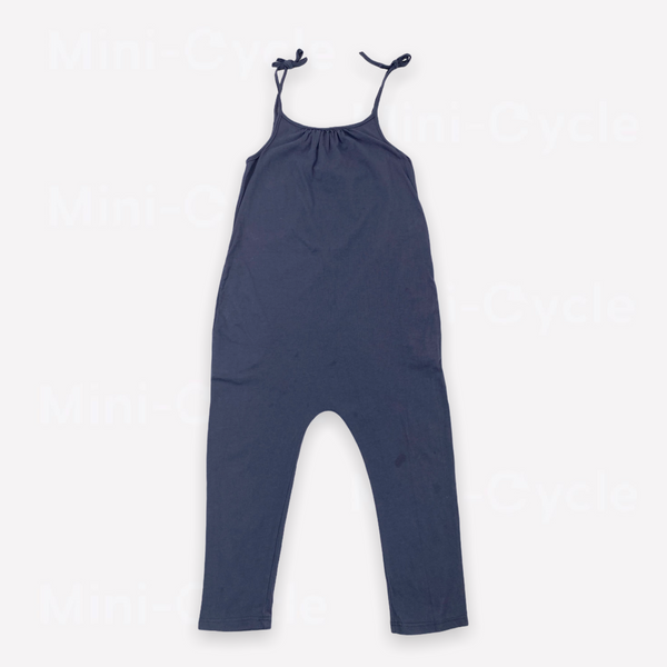 Re-Cycle Solid Navy Romper