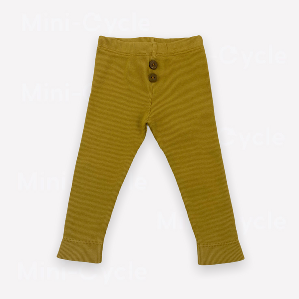 Re-Cycle Solid Ochre Leggings