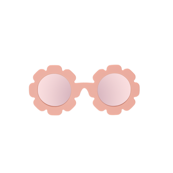 The Flower Child - Peachy Pink Flower w/Rose Gold
