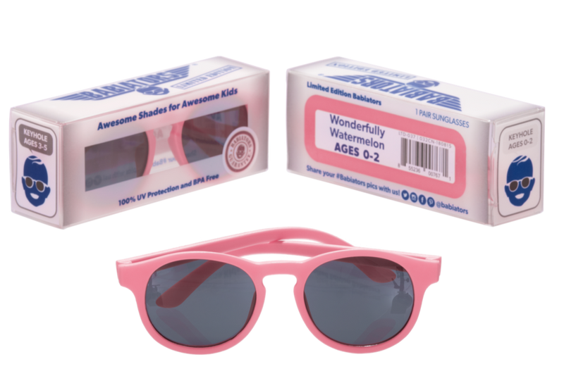 Babiators Accessories 0-2y Sunglasses - Keyhole - Wonderfully Watermelon