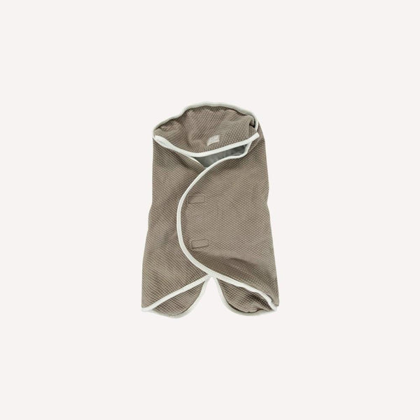 Babynomade Blankets 0-6m / Like New Re-Cycle Solid Taupe Hooded Blanket