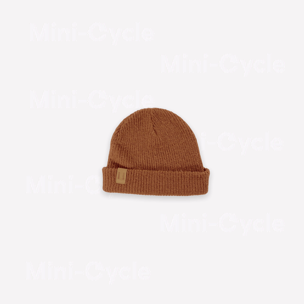Beau Hudson Beanie Large / Preloved Re-Cycle Rust Beanie