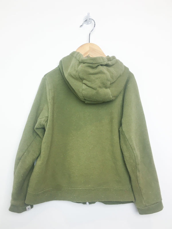 Billybandit Sweatshirt 6y / Gently Used Re-Cycle Khaki Hoodie with Speckled Threads