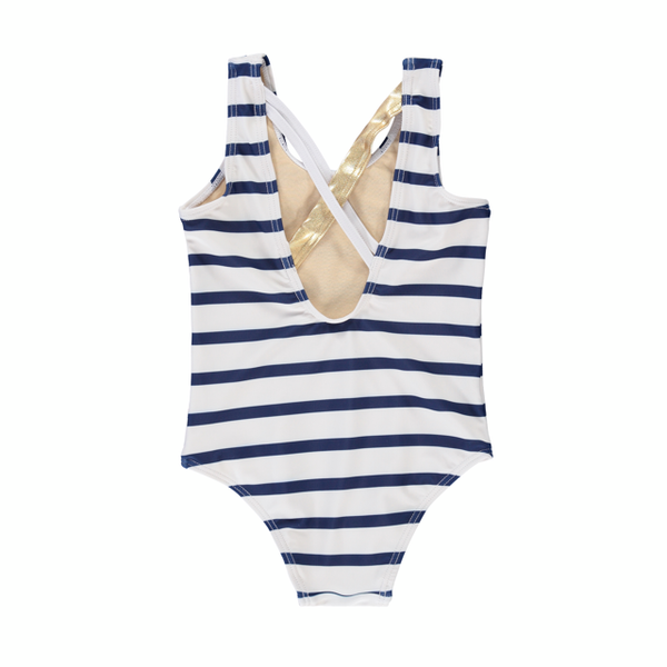 Birdz Swimwear 2y Nautical Girls Swimsuit