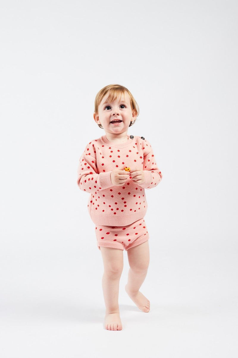 Bobo Choses Bloomers Dots Knitted Culotte