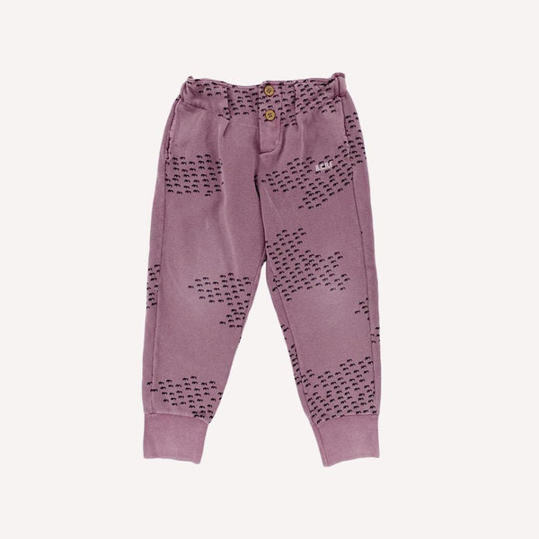 Bobo Choses Pants 4-5y / Preloved Re-Cycle Buttons Trousers - Flocks